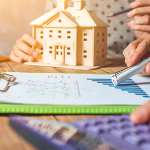 calculating house taxes - buying off the plan