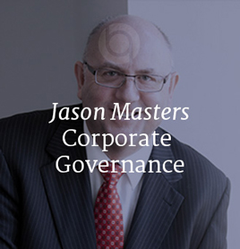 Jason Masters - Corporate Governance